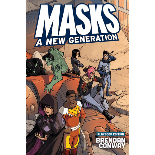 Masks A New Generation (softcover)