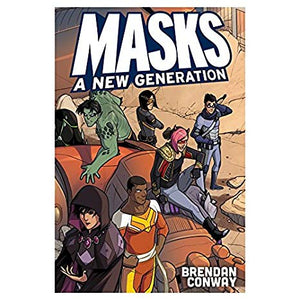 Masks A New Generation (hardcover)