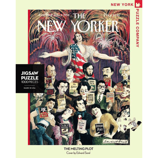 Puzzle (1000pc) New Yorker : Melting Plot