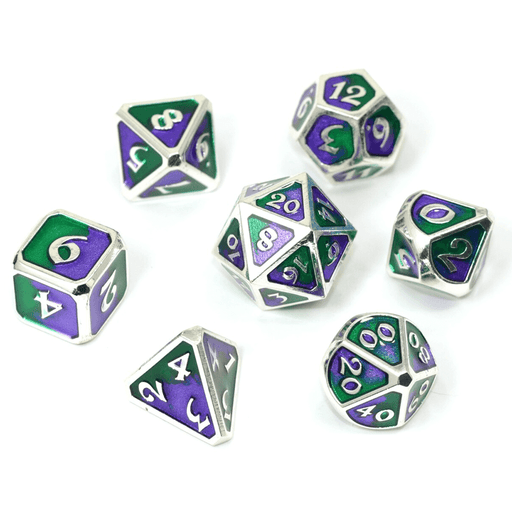 Dice 7-set Metal Spellbinder (16mm) Jokester