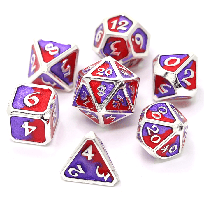 Dice 7-set Metal Mythica (16mm) Spellbinder Sovereign