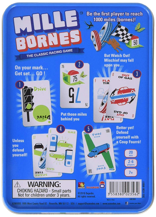 Mille Bornes Racing Game (2016)
