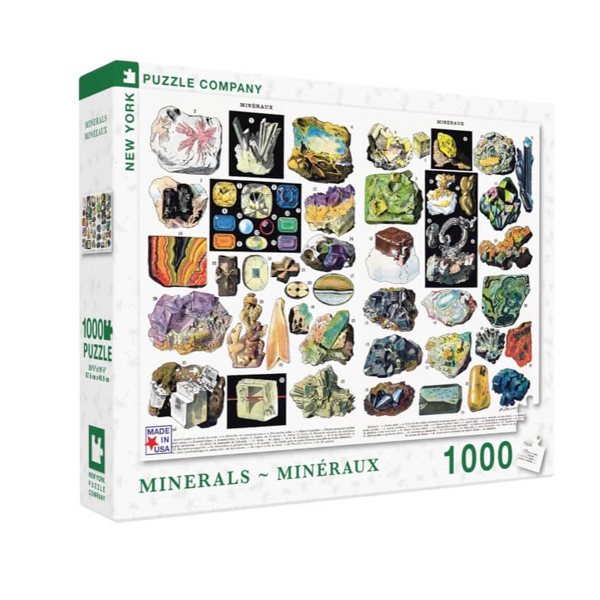 Puzzle (1000pc) Minerals & Gems