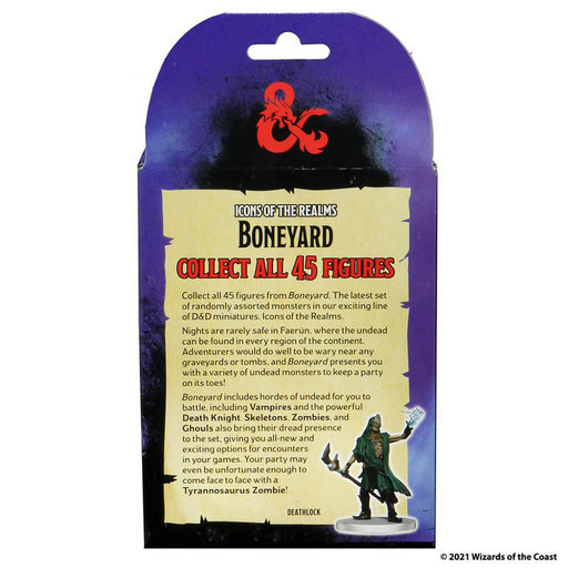 Mini - D&D Icons of the Realms Booster : Boneyard