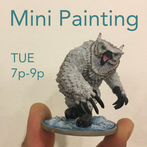 Class | Mini Painting - Tuesdays @ 7p