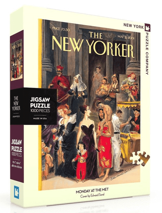 Puzzle (1000pc) New Yorker : Monday at the MET