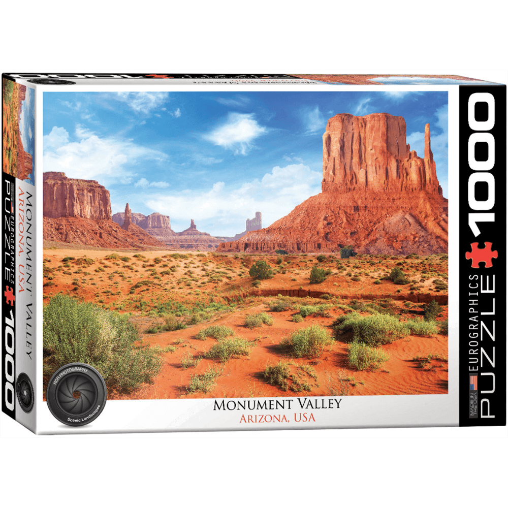 Puzzle (1000pc) HDR Photography : Monument Valley