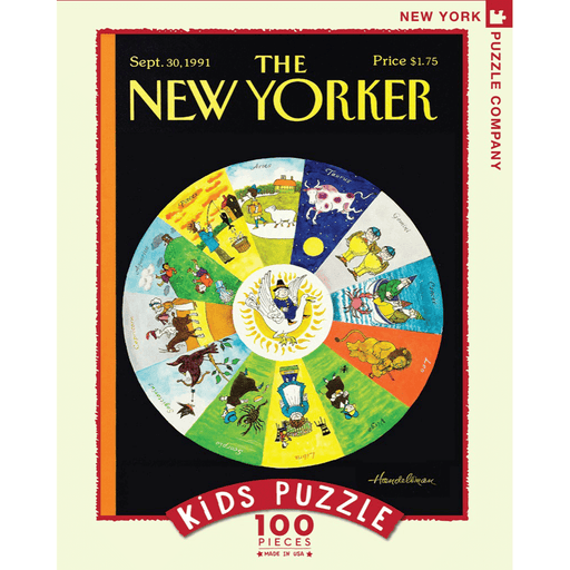 Puzzle (100pc) New Yorker : Mother Goose Zodiac