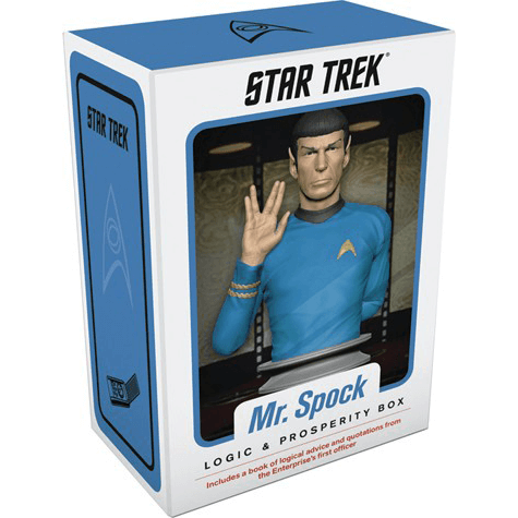Wisdom Box Mr. Spock : Logic and Prosperity