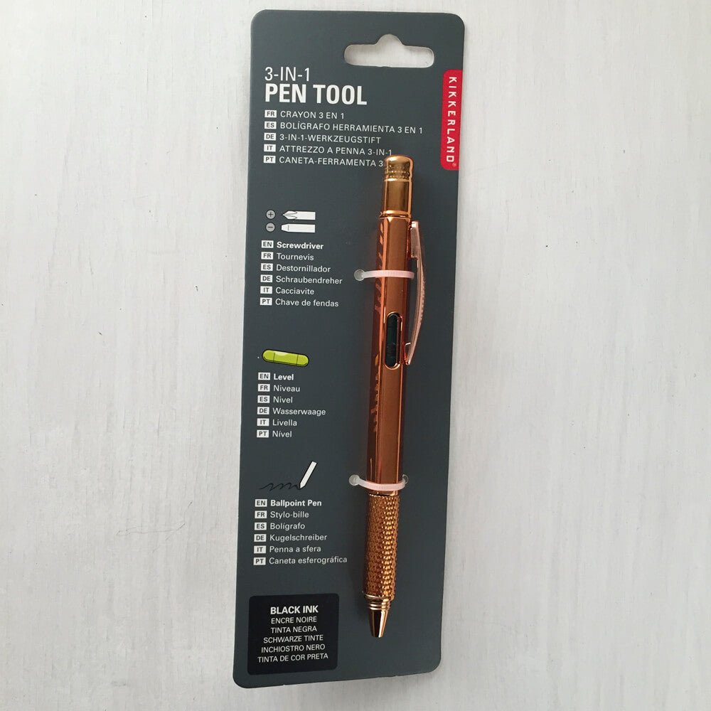 Pen Multitool (3-in-1) Copper