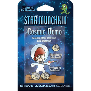 Munchkin Star Expansion : Cosmic Demo