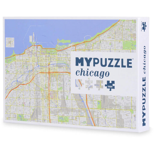 Puzzle (1000pc) MYPUZZLE : Chicago