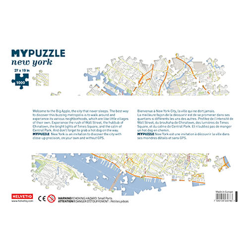 Puzzle (1000pc) MYPUZZLE : New York City