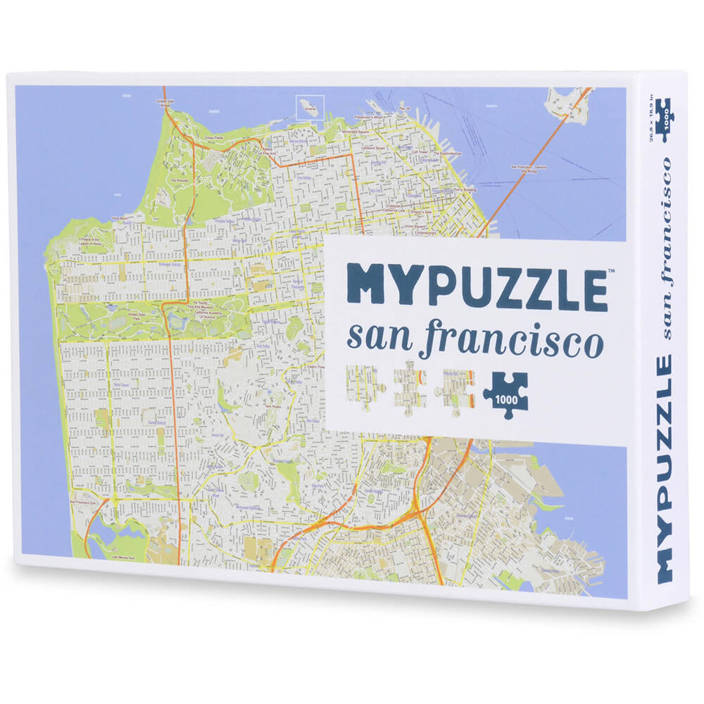 Puzzle (1000pc) MYPUZZLE : San Francisco
