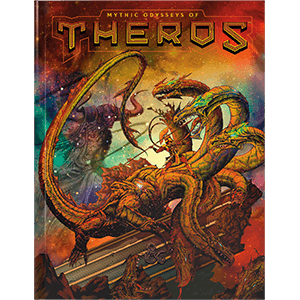D&D (5e) Mythic Odysseys of Theros (Alt. Art Cover)