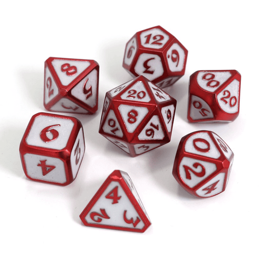 Dice 7-set Metal Mythica (16mm) Celestial Archon