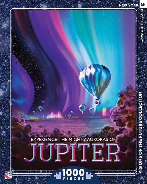 Puzzle (1000pc) Visions of the Future : Jupiter