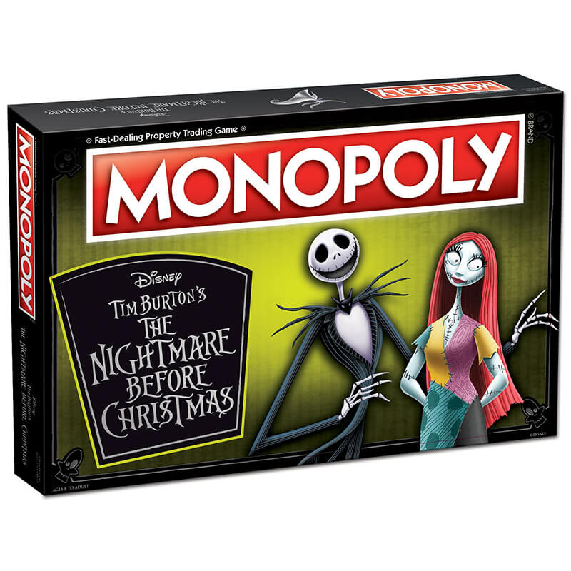 Monopoly Nightmare Before Christmas 25 Years