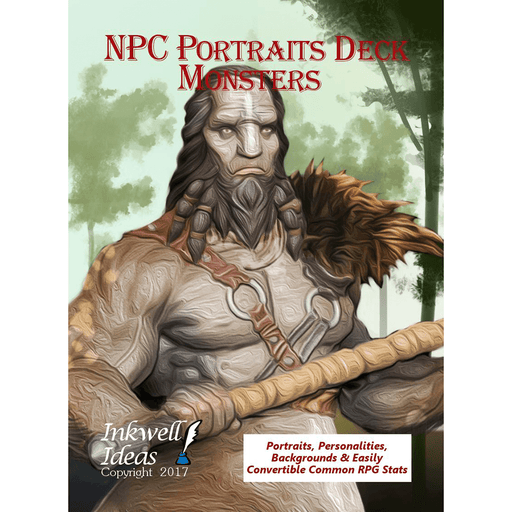 NPC Portraits Deck : Monsters