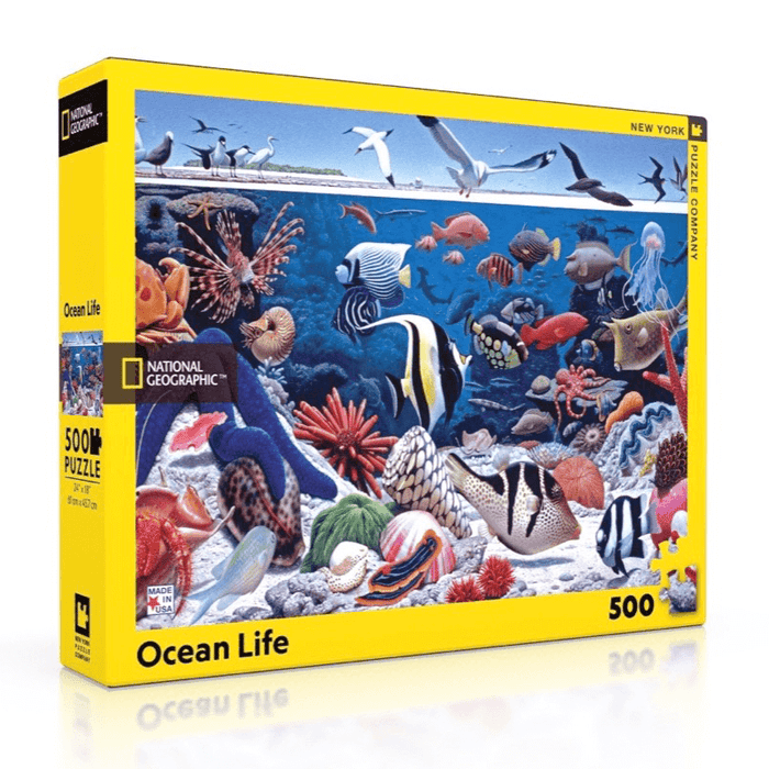 Puzzle (500pc) National Geographic : Ocean Life