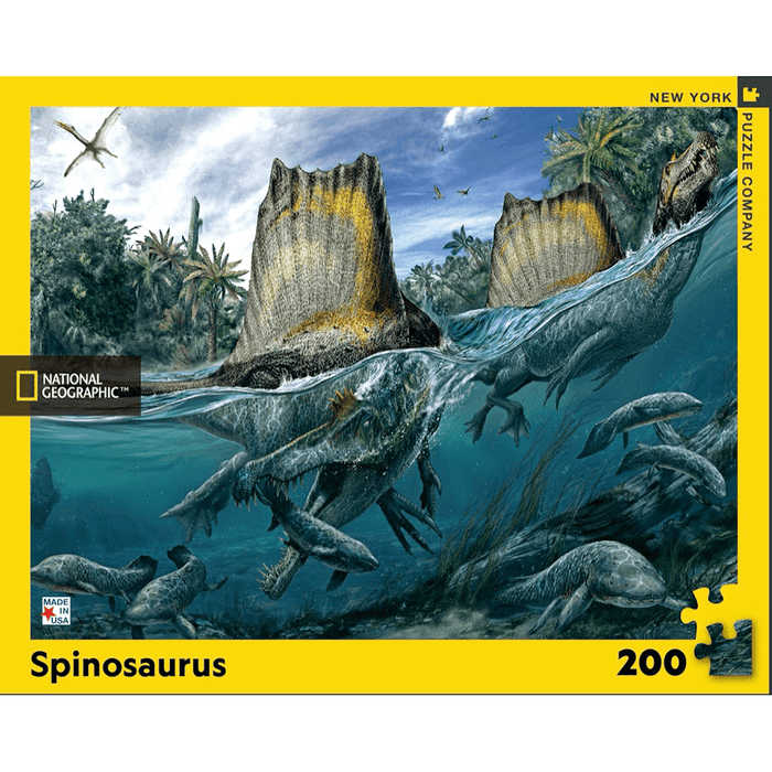 Puzzle (200pc) National Geographic :  Spinosaurus