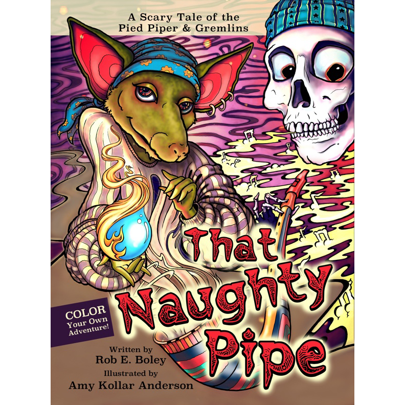 Coloring Book The Naughty Pipe – Twenty Sided Store