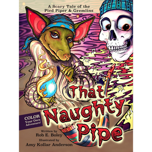 Coloring Book The Naughty Pipe