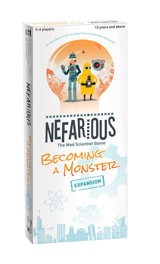 Nefarious Expansion : Becoming a Monster
