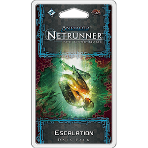Netrunner Data Pack Flashpoint Cycle : Escalation