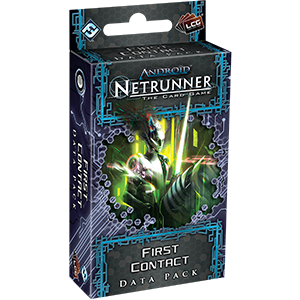 Netrunner Data Pack Lunar Cycle : First Contact