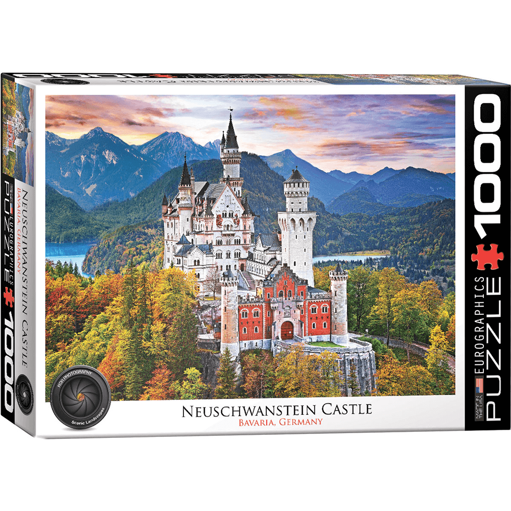 Puzzle (1000pc) Neuschwanstein Castle Germany