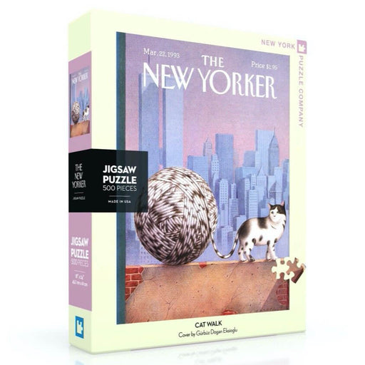 Puzzle (500pc) New Yorker : Cat Walk