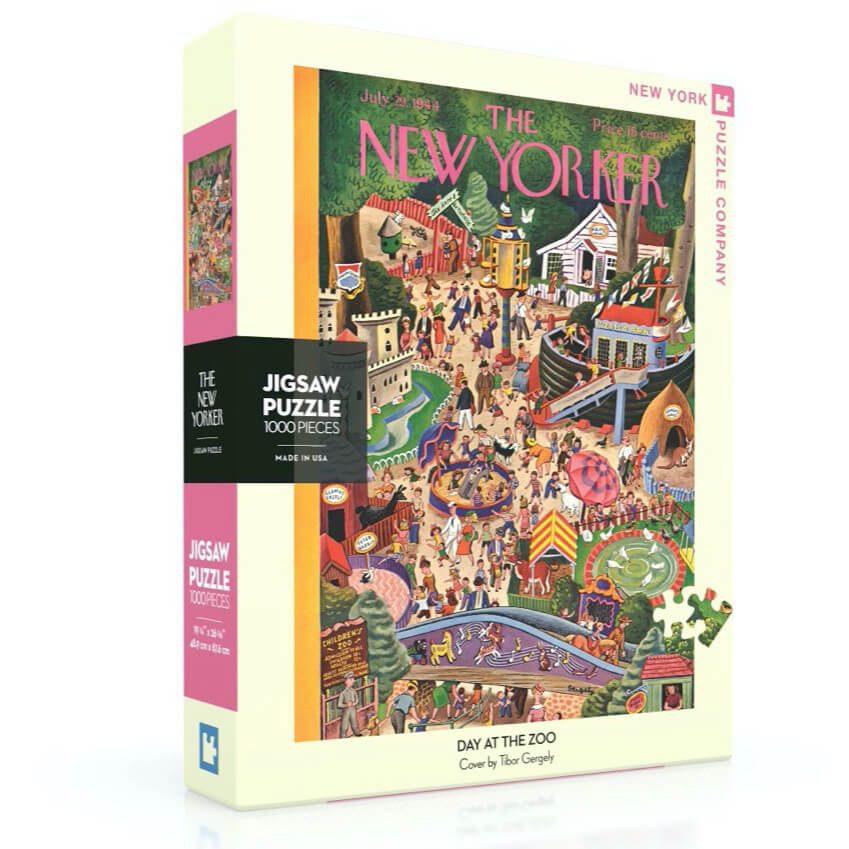 Puzzle (1000pc) New Yorker : Day at the Zoo