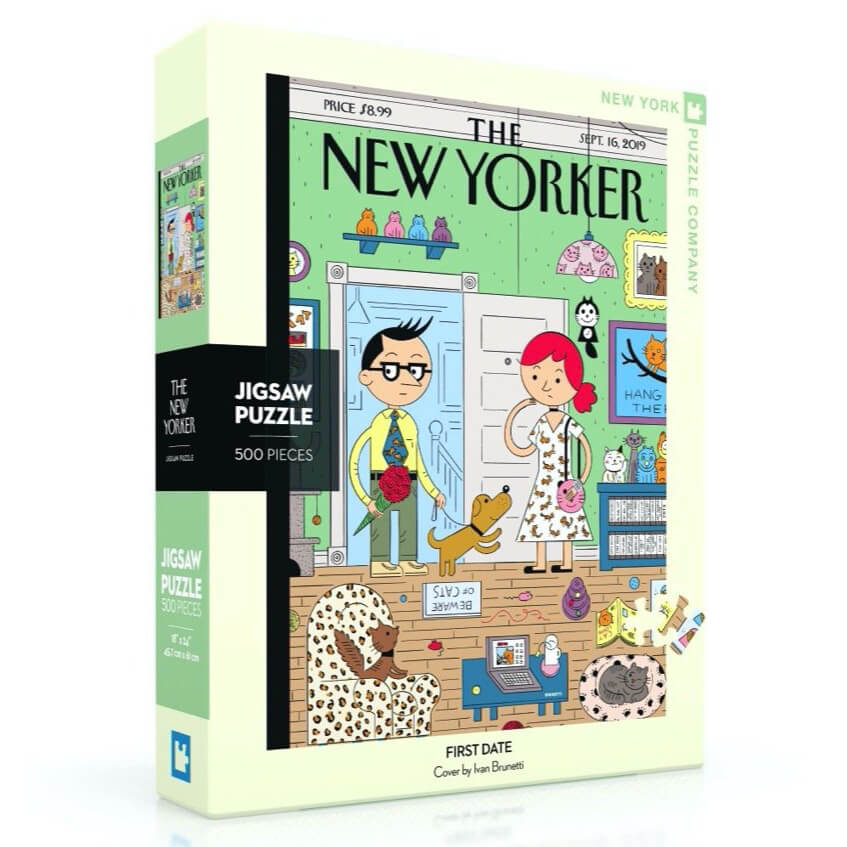 Puzzle (500pc) New Yorker : First Date
