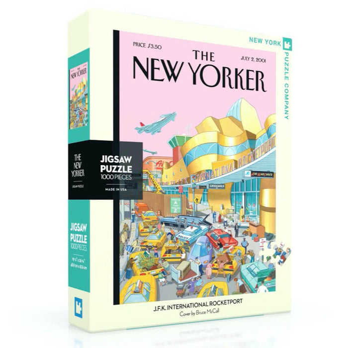 Puzzle (1000pc) New Yorker : JFK International Rocketport