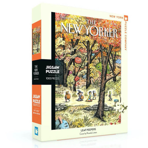 Puzzle (1000pc) New Yorker : Leaf Peepers