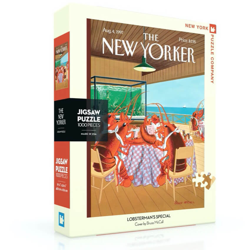 Puzzle (1000pc) New Yorker : Lobsterman's Special