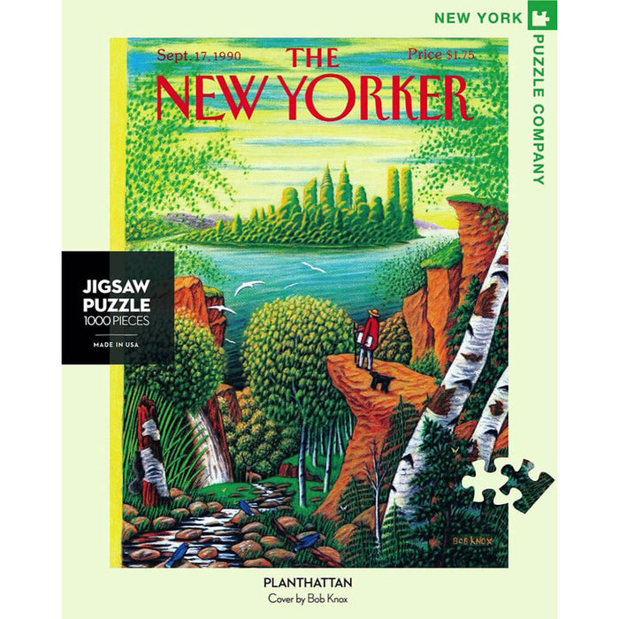 Puzzle (500pc) New Yorker : Planthattan