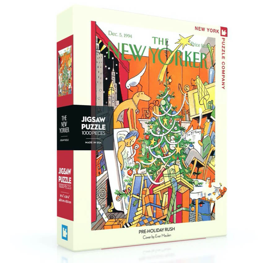 Puzzle (1000pc) New Yorker : Pre-Holiday Rush