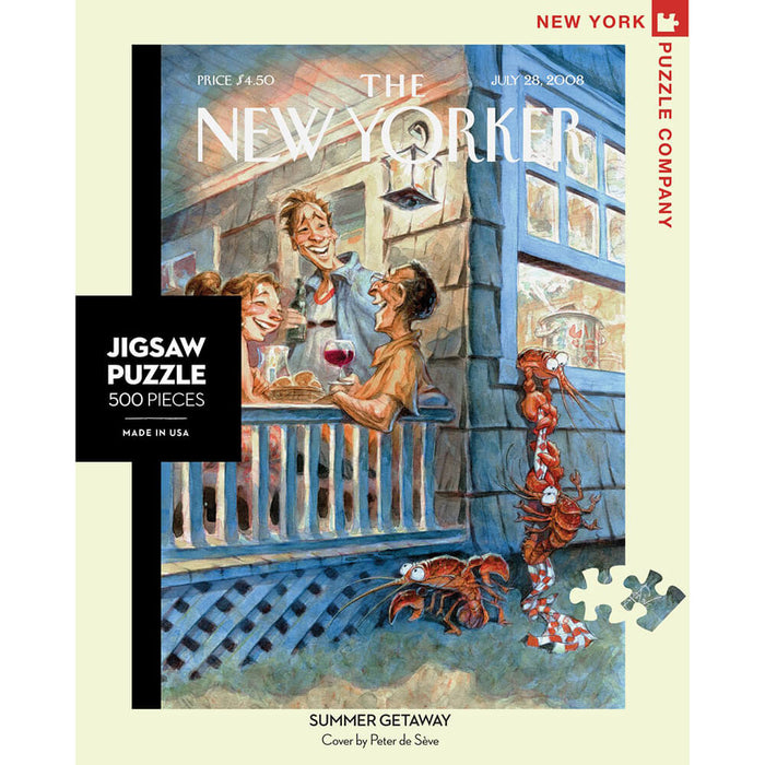 Puzzle (500pc) New Yorker : Summer Getaway