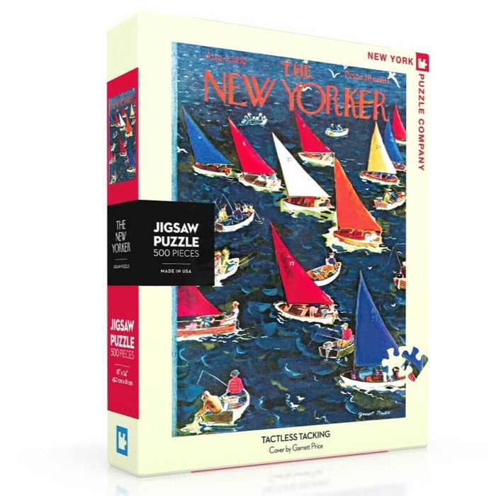 Puzzle (500pc) New Yorker : Tactless Tacking