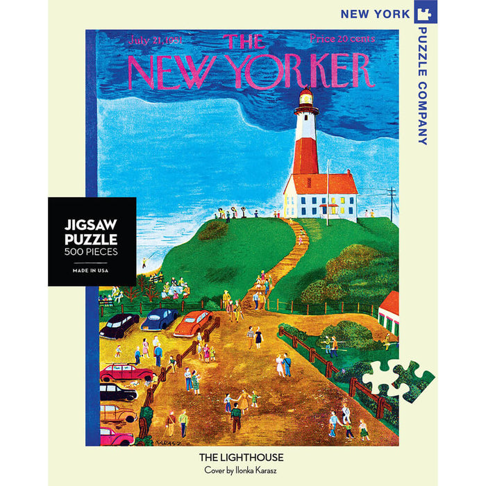 Puzzle (500pc) New Yorker : The Lighthouse