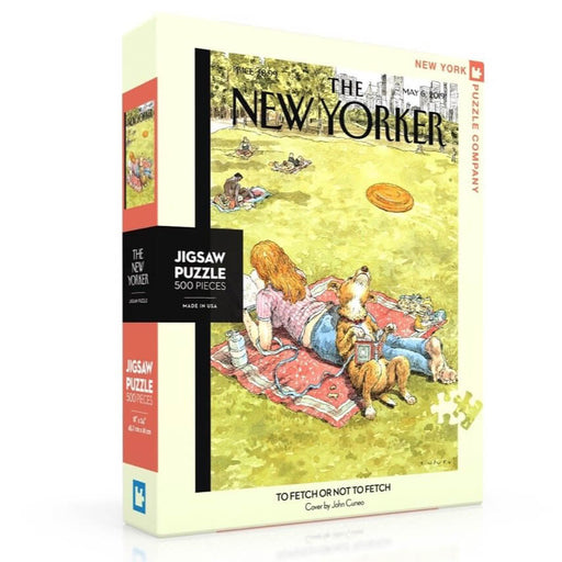 Puzzle (500pc) New Yorker : To Fetch or Not to Fetch