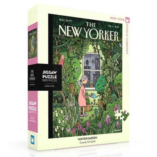 Puzzle (500pc) New Yorker : Winter Garden