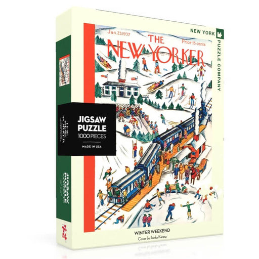 Puzzle (1000pc) New Yorker : Winter Weekend