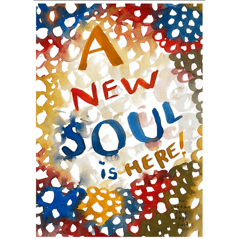Greeting Card (5x7in) New Soul