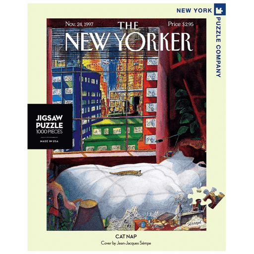 Puzzle (1000pc) New Yorker : Cat Nap