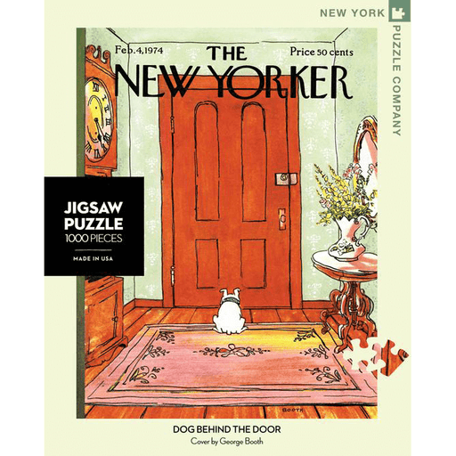 Puzzle (1000pc) New Yorker : Dog Behind the Door