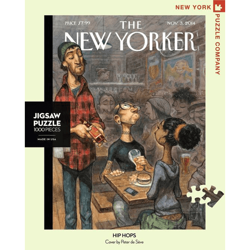 Puzzle (1000pc) New Yorker : Hip Hops