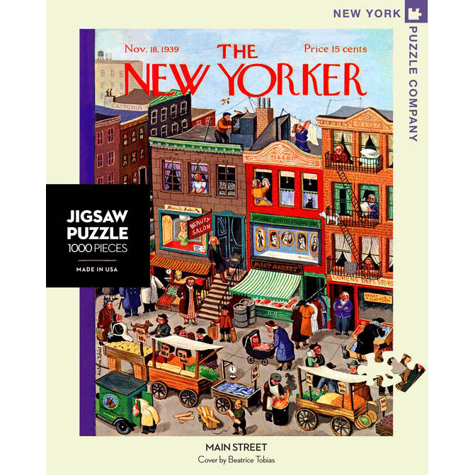 Puzzle (1000pc) New Yorker : Main Street